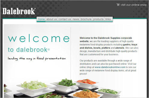Dalebrook Corporate Website Design