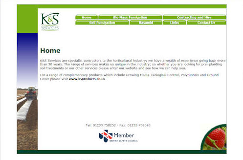 KS Services Website Design