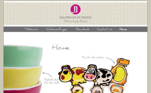 Dalebrook by Design Website Design