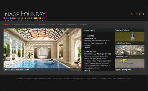Image Foundry Website Design