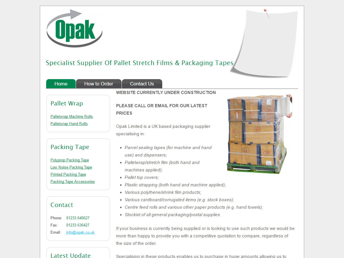 Opak Website Design