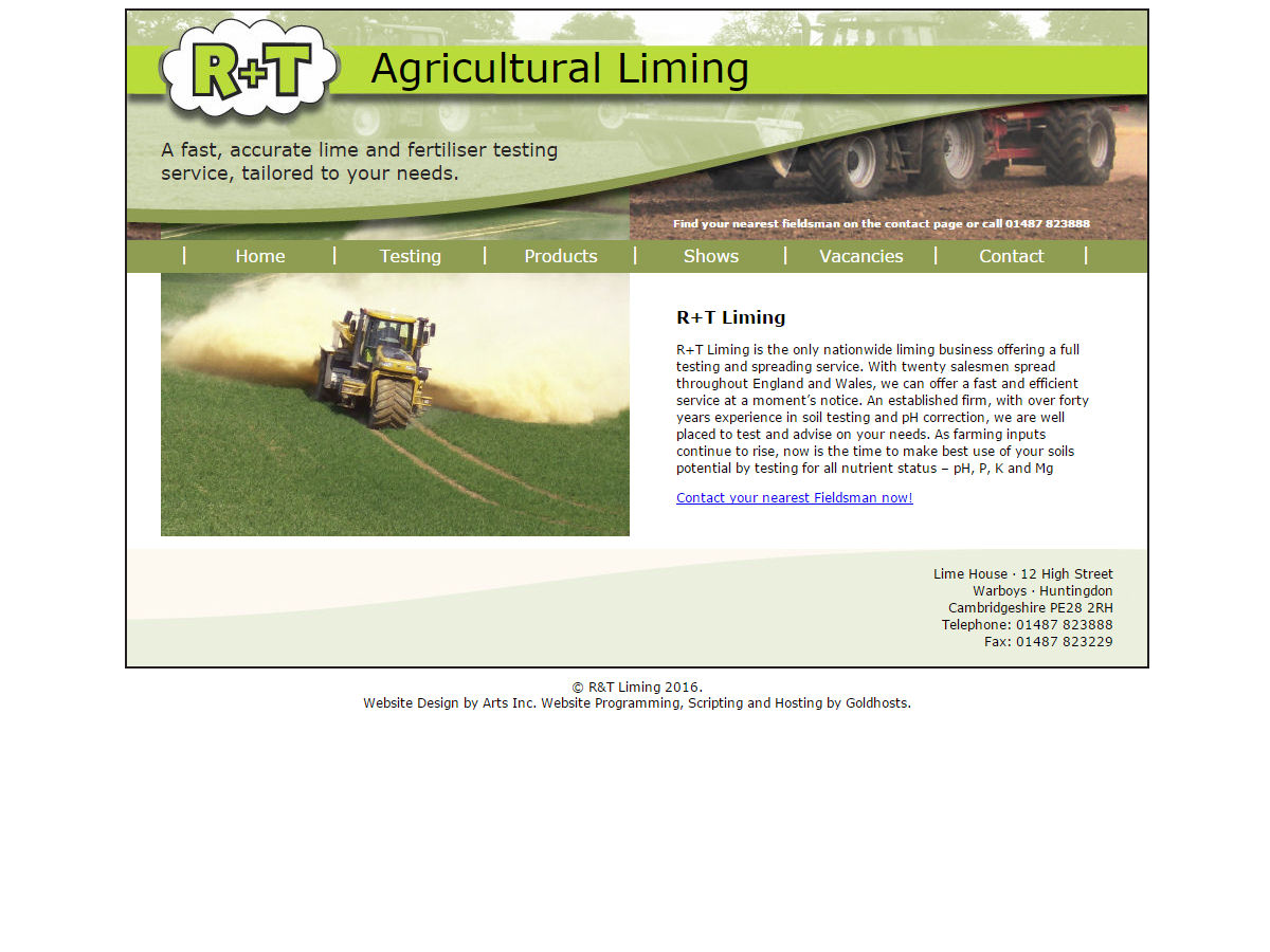 and T Liming Website Design